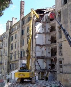Rušenje Hotela Palace